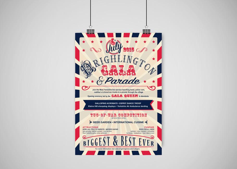 Drighlington Gala Poster
