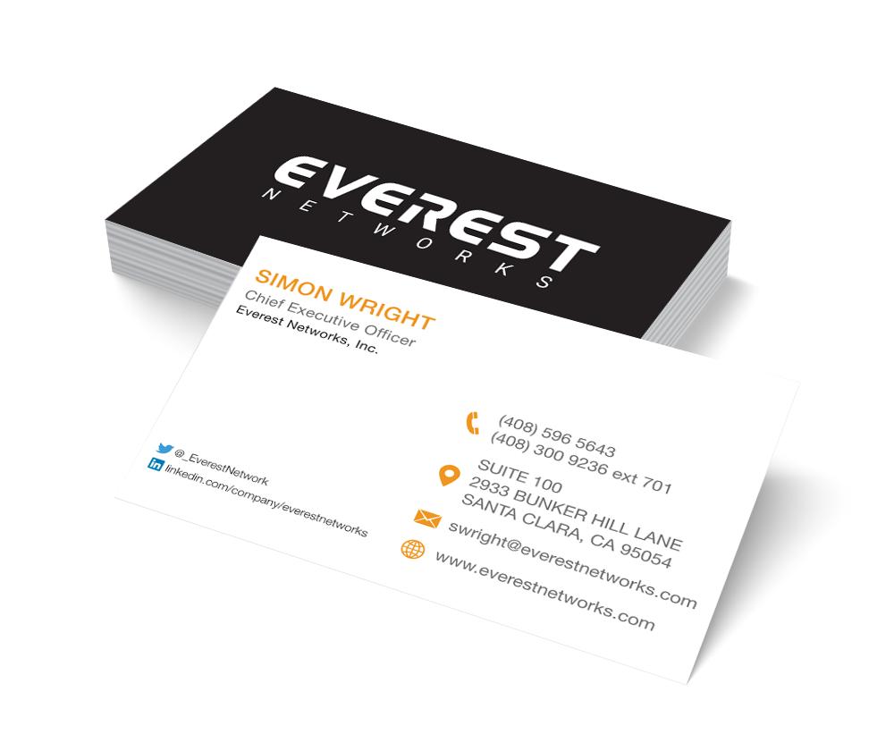 Everest Networks Business Cards