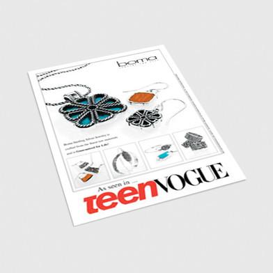 Teen Vogue Postcard