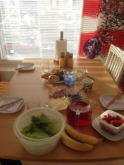 フィンランドの朝食