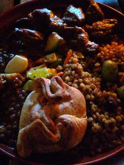 タリンの伝統的な食事