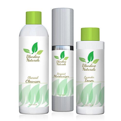 Blandine Naturals - Best Face Collection / 3 pc Set