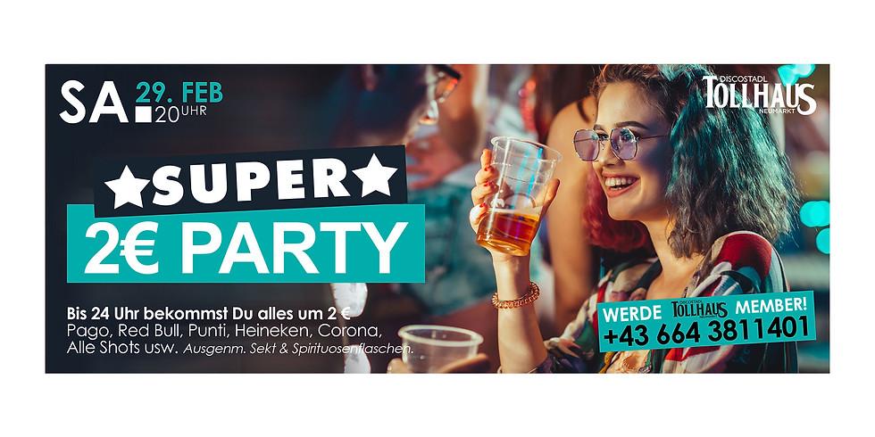 Super 2€-Party!
