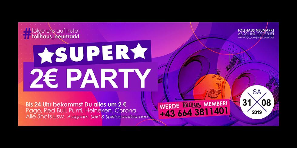 SUPER 2€-PARTY