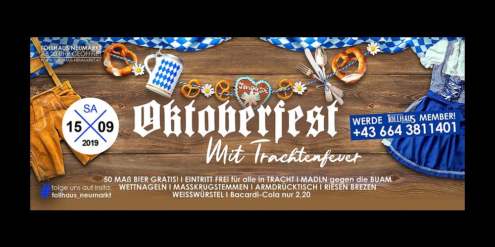 OKTOBERFEST mit TRACHTENFEVER!
