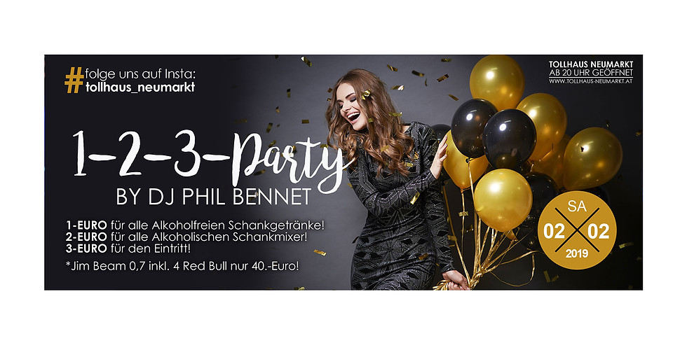 1-2-3-Party!by Dj Phil Bennet