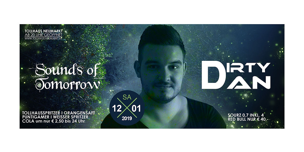Sounds of Tomorrow mit Dj Dirty Dan (Antenne Kärnten DJ)