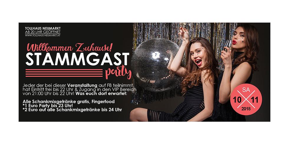 Willkommen ZUHAUSE! Stammgast-Party