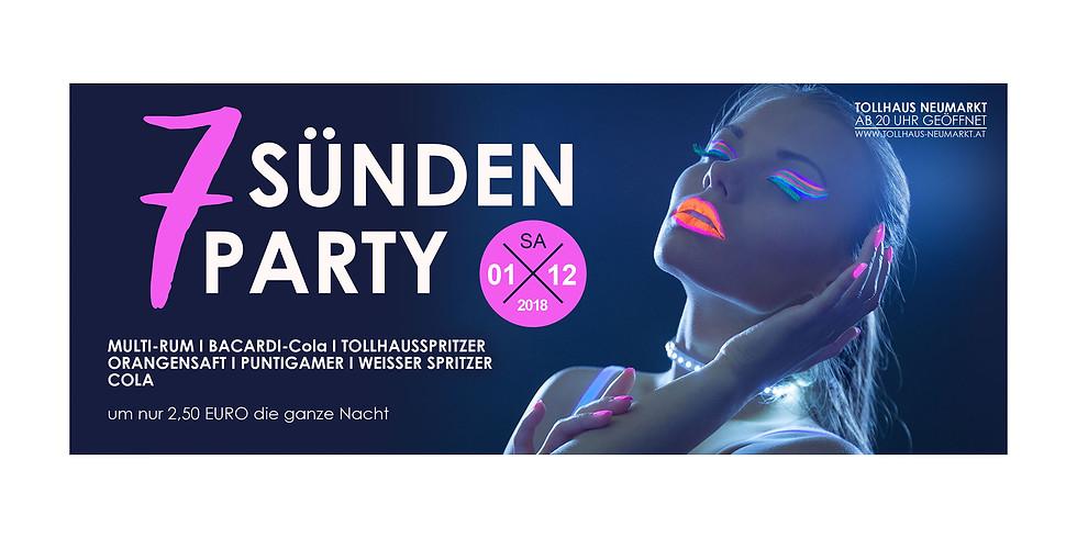 7-Sünden-Party