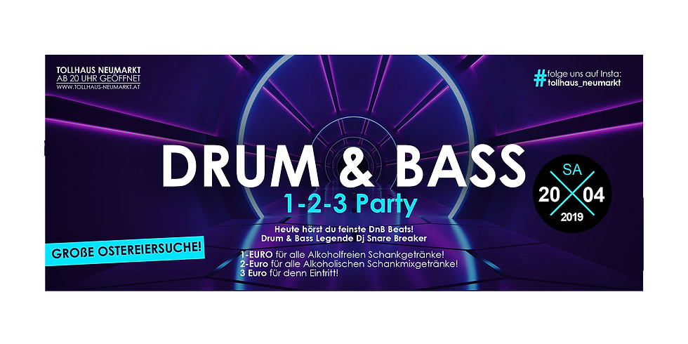 DRUM & BASS +1-2-3-Party!
