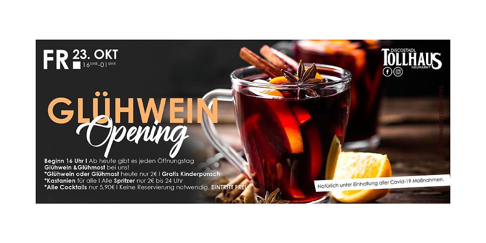 Glühwein Opening