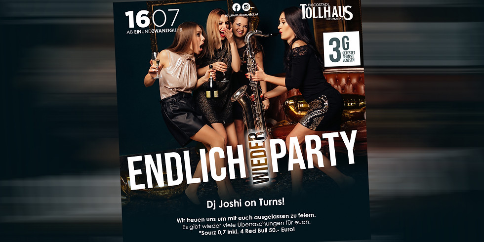 Endlich wieder Party!