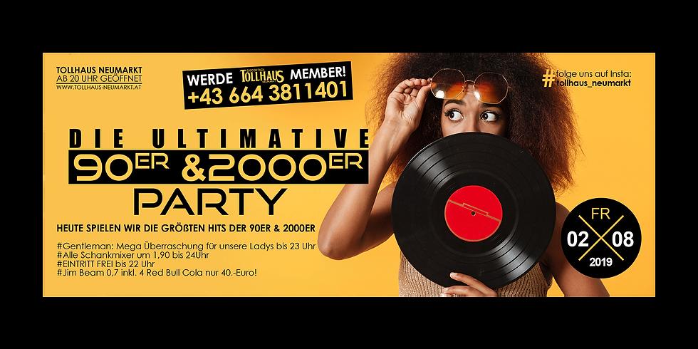 Die ULTIMATIVE 90er & 2000er PARTY!