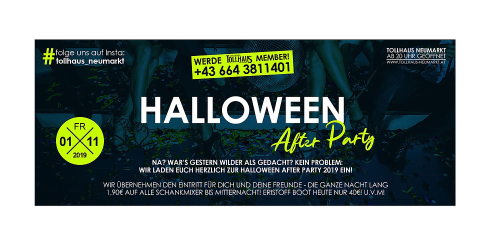 HALLOWEEN After-Party!