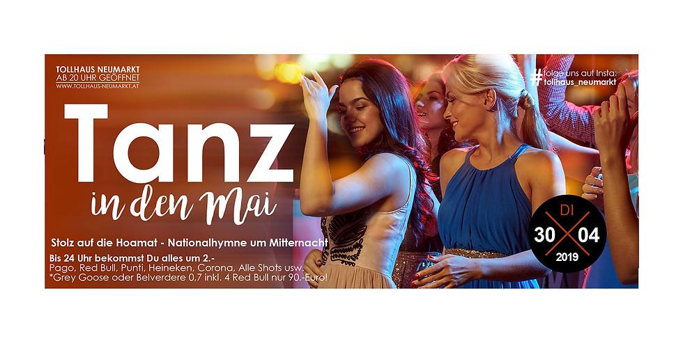 Tanz in den Mai mit SUPER 2€-Party