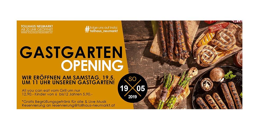 Gastgarten Opening mit Live Musik
