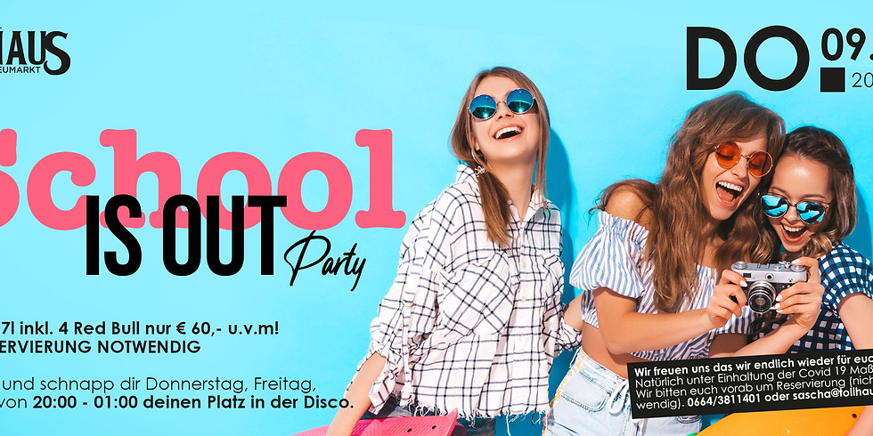 Scholl out Party I
