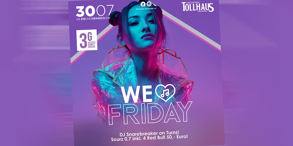 We Love Friday!