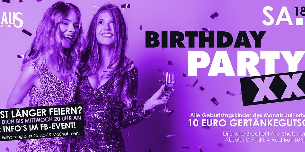Birthday Party XXL