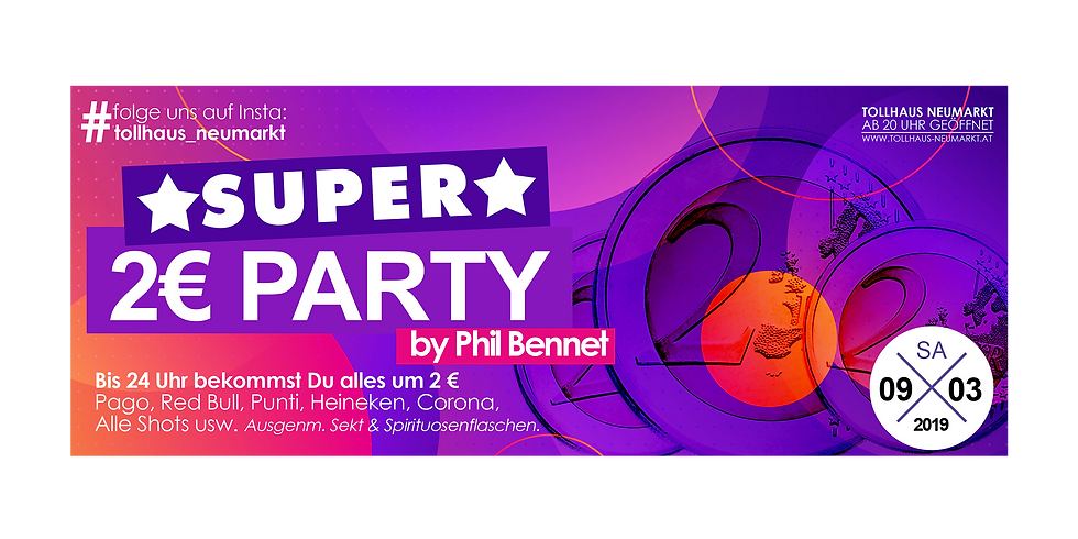 Die Super 2.- Euro-Party by Phil Bennet