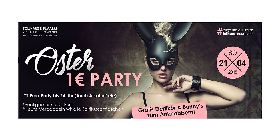 OSTER 1€-Party!