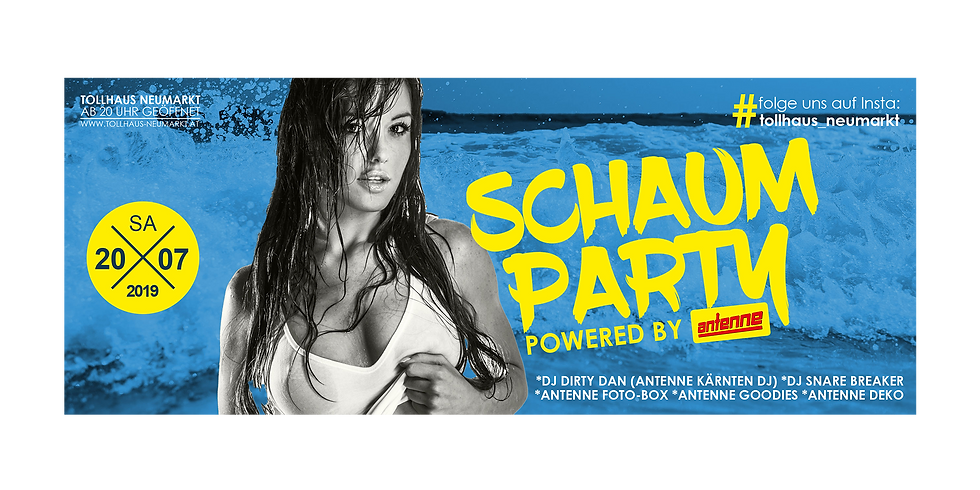 SCHAUM-PARTY powered by ANTENNE