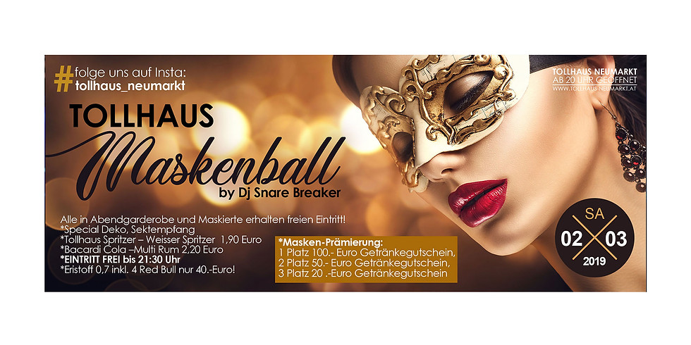TOLLHAUS - MASKENBALL! by Dj Snare Breaker
