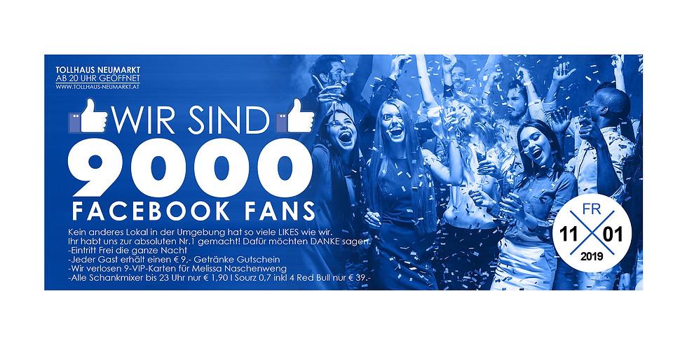Wir sind 9000 // Wir sagen Danke