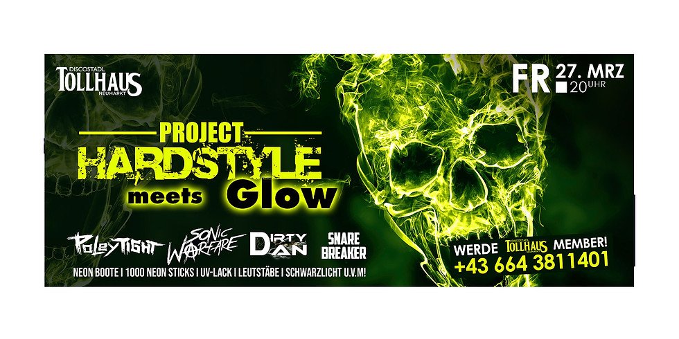 PROJECT HARDSTYLE meets GLOW