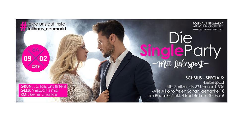 Die Single Party mit Liebespost! by Dj Snare Breaker