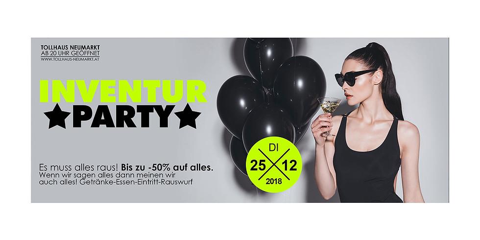 Inventur-Party!