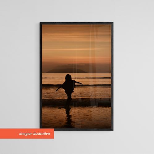 Liberdade no Mar - Quadro Fotográfico