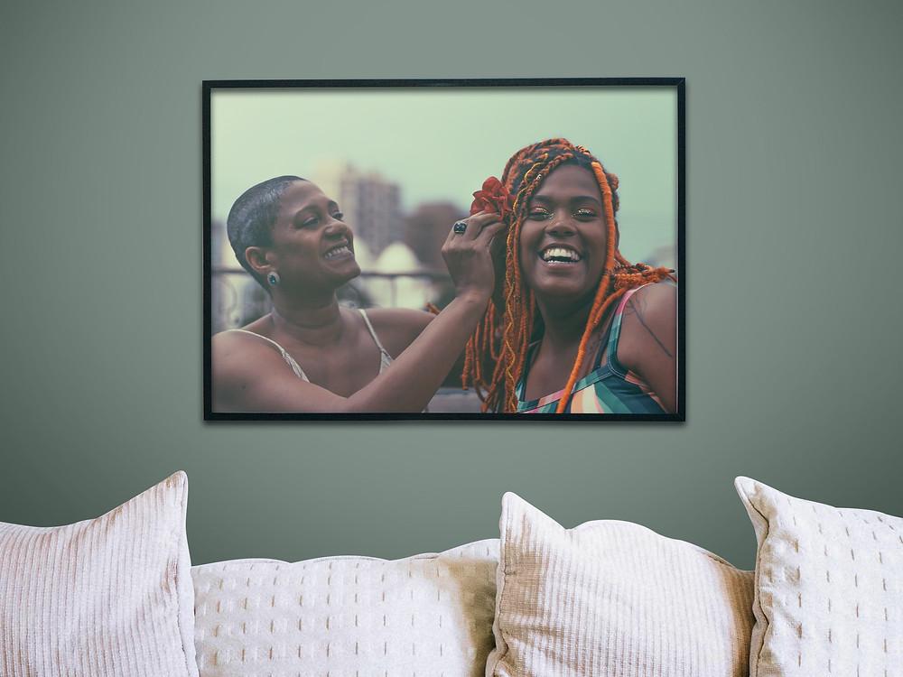 Jussara e Izabela emolduraram um momento especial. | Gabriel Juan Fotografia