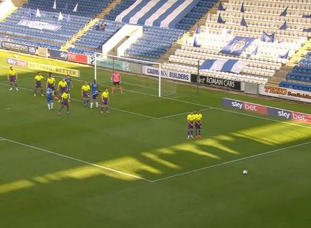 Colchester United vs. Exeter City 1st Semi-final