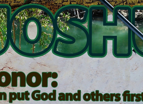 "HONOR Series - ""Joshua"" (O.T. Restorative Work)"