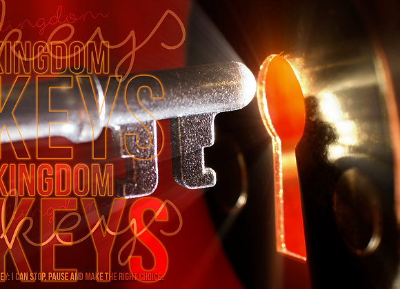 "OBEY Series - ""Kingdom Keys"" (Doctrine - Romans 1-8)"