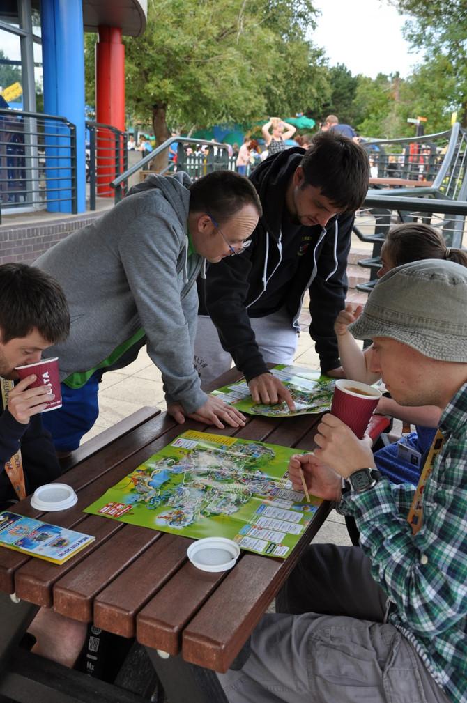 Fun & Games at Lego Land ...