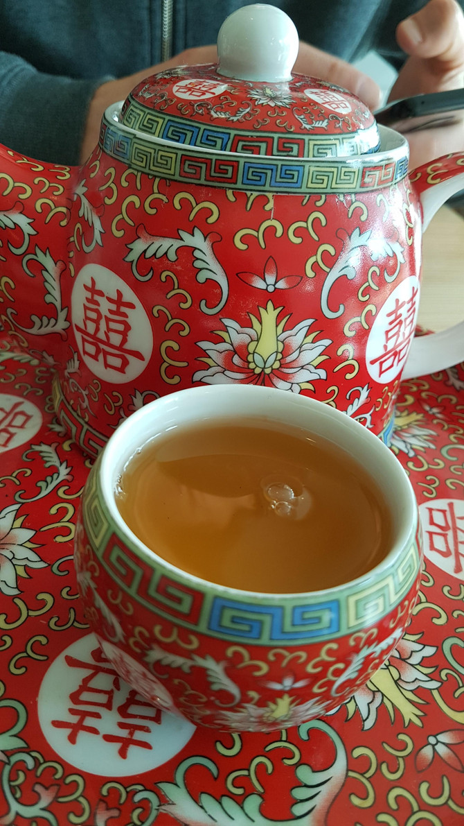 Green tea ...