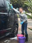 DAN CAR WASH ACTION SHOT.JPG