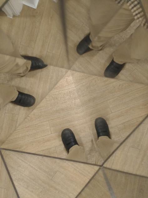 My feet by Eddie