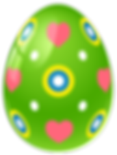 Green_Easter_Egg_with_Hearts_PNG_Clipart