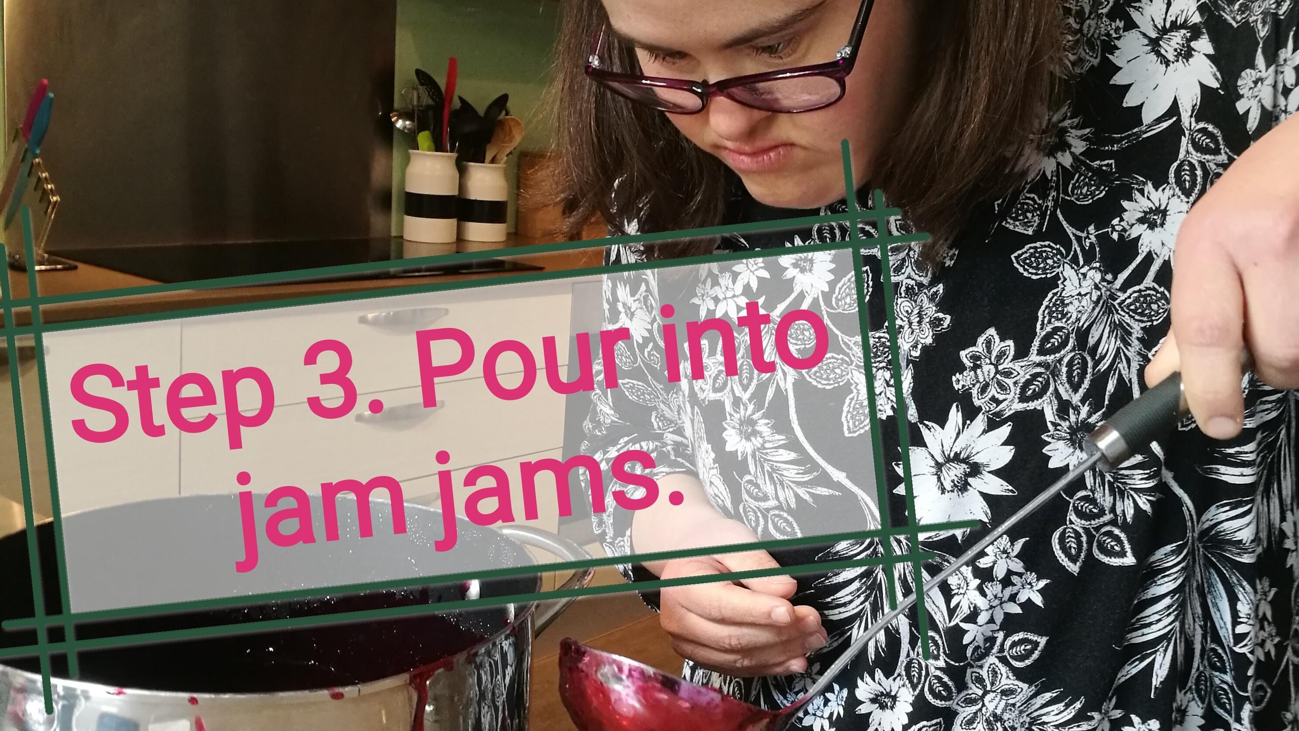 Filling Jam Jars