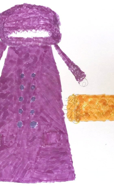 hooded purple coat with gold scarf.jpg