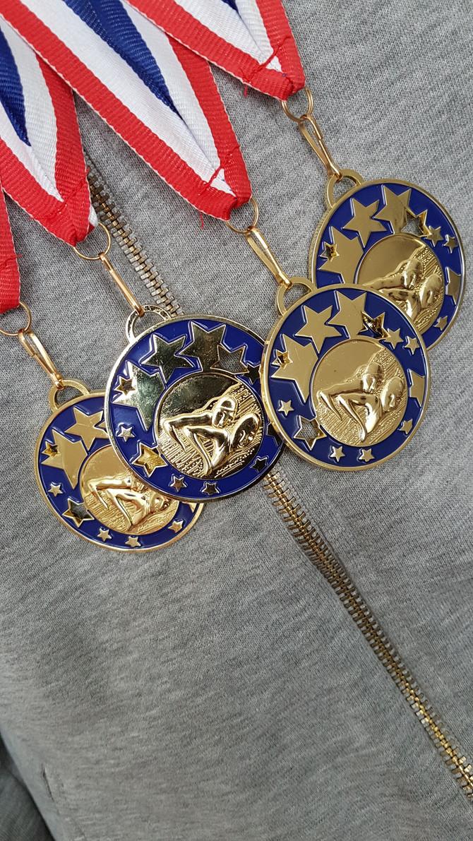 4 Golds...