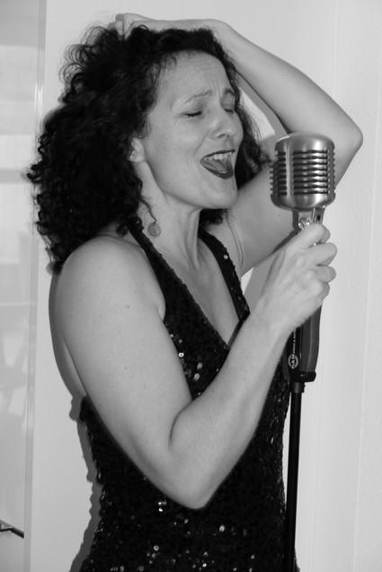 Anette Heiter - die Sängerin