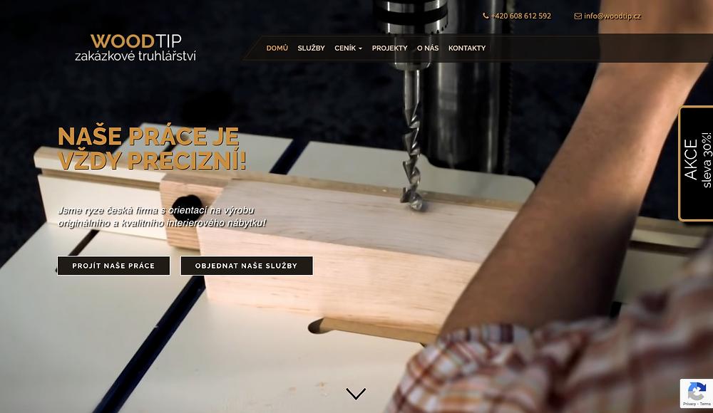 Design webové stránky