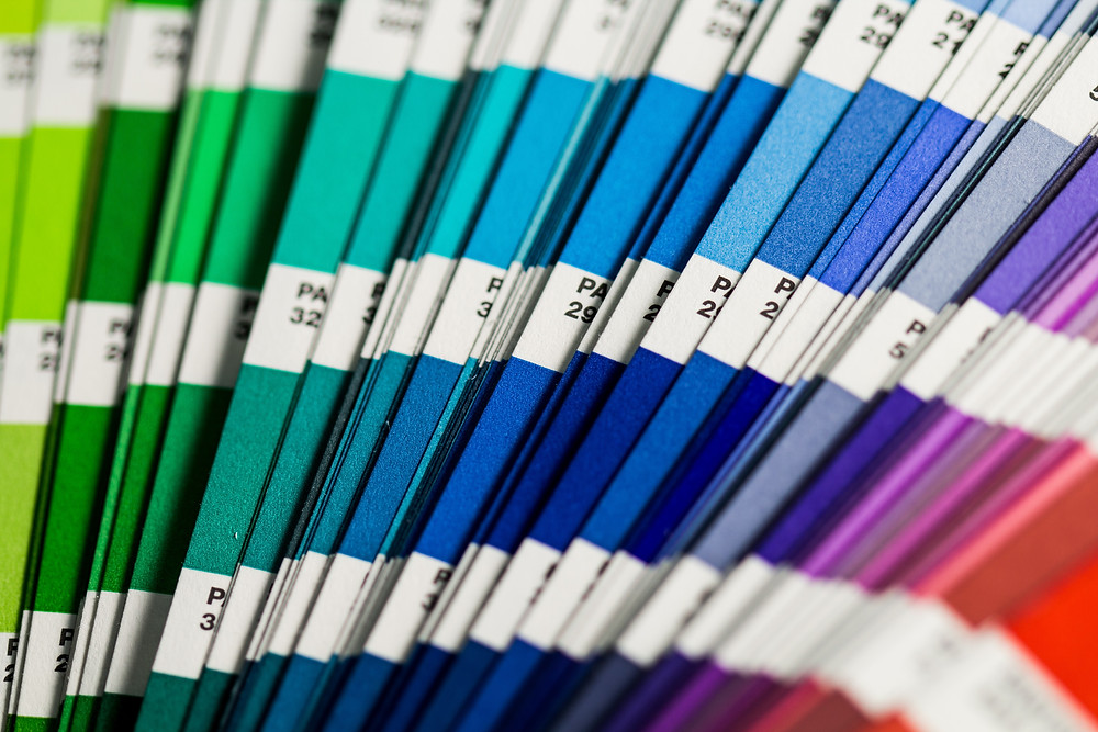 Paleta barev pro web