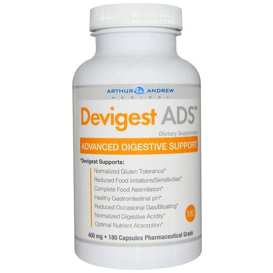 Arthur Andrew Medical - Devigest ADS 400 mg - 180 caps