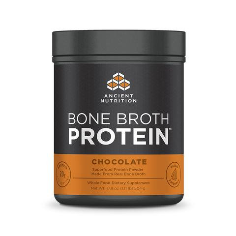 Ancient Nutrition - Bone Broth Protein Chocolate - 17.8 oz