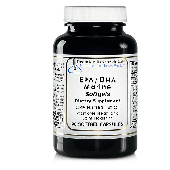 EPA/DHA Marine Softgels | 90 softgel capsules